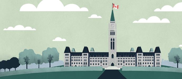 Illustration of Canadian Parliament